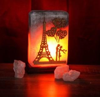 Соляная лампа «Встреча в Париже» 3,4 кг. купить в Минске +375447651009