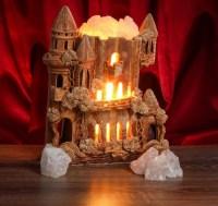 Соляная лампа «Замок с башнями» 4 кг. купить в Минске +375447651009