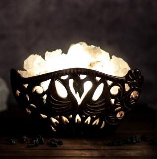 Соляной светильник «Пара лебедей» - купить солевую лампу Минск купить