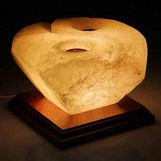 Соляной светильник с подсвечником «Инь и ян» 3-4 кг купить Минск +375447651009