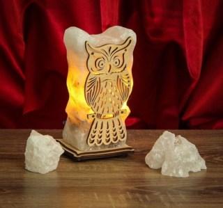 Соляной светильник «Совенок» 1,6 кг. купить в Минске +375447651009