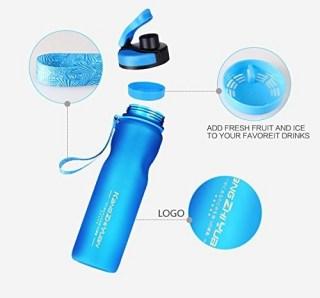Спортивная бутылка для воды «Sports» синяя 1 литр купить Минск