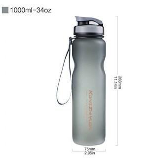 Спортивная бутылка для воды «Sports» черная 1 литр купить Минск
