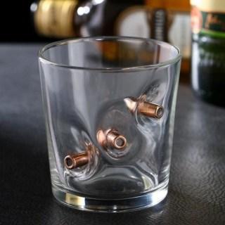 Стакан для виски с пулями «Непробиваемый» купить в Минске +375447651009