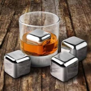 Кубики для виски стальные, 6 шт купить