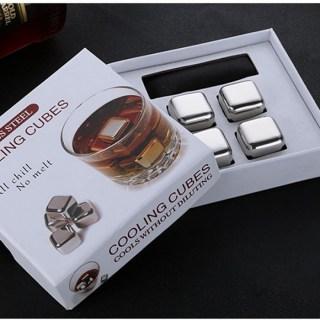Стальные кубики для виски «Cooling cubes» 4 шт. купить в Минск +375447651009