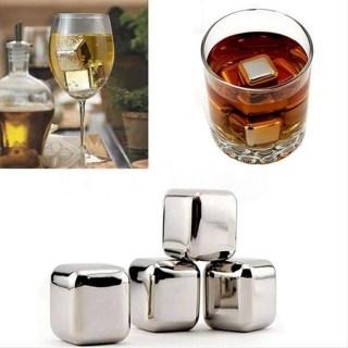 Стальные кубики для виски «Cooling cubes» 6 шт. купить в Минск +375447651009