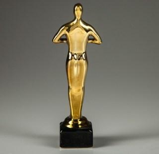 Статуэтка Оскар «Под нанесение» без надписи керамическая купить в Минске +375447651009