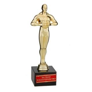 Статуэтка Оскар на камне «За силу и благородство» 18 см. купить +375447651009