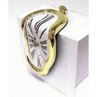 Стекающие часы Сальвадора Дали «Melting Clock» золотистые Минск +375447651009