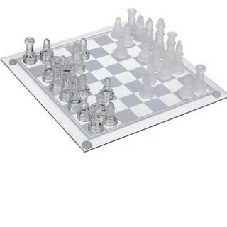Стеклянные шахматы «Снежная королева» купить в Минске +375447651009