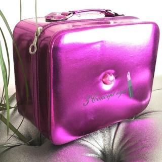 Сумка для косметики «Lips» розовая купить в Минске +375447651009