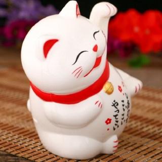 Сувенир денежный «Кот счастья с улыбкой» большой купить в Минске +375447651009