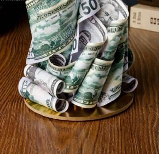Сувенир денежный «Кран изобилия» купить в Минске +375447651009