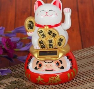 сувенир кот счастья вид 3 купить в Минске +375447651009