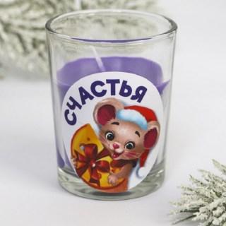 Свеча «Мышка с сыром» купить в Минске +375447651009