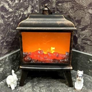 Светильник декоративный камин «Classic» на ножках купить Минск +375447651009