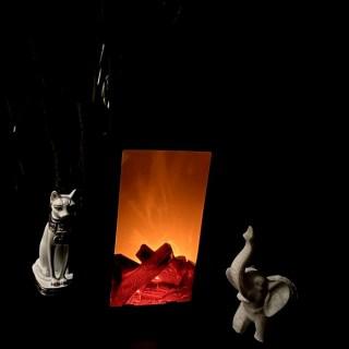 Светильник декоративный камин «Дом» купить Минск +375447651009