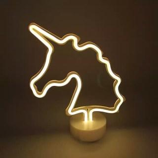Светильник «Единорог» неоновый купить в Минске +375447651009