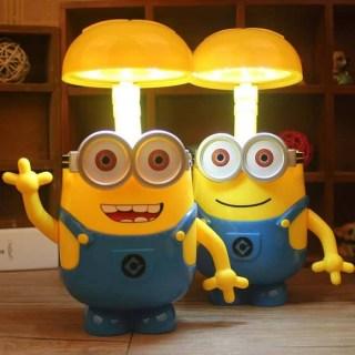Настольная лампа (светильник) - копилка Миньон