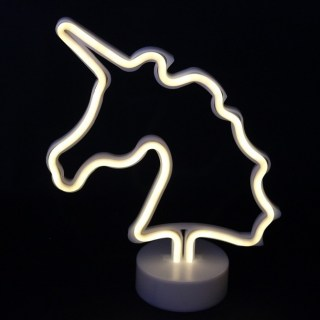 Светильник неоновый «Единорог» вид 2 купить в Минске +375447651009