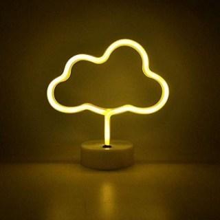 Светильник неоновый «Облако» от USB купить в Минске +375447651009