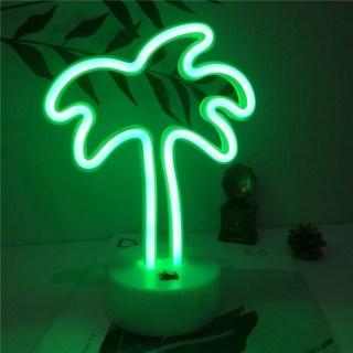 Светильник неоновый «Пальма» от USB купить в Минске +375447651009