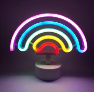 Светильник неоновый «Радуга» от USB купить в Минске +375447651009