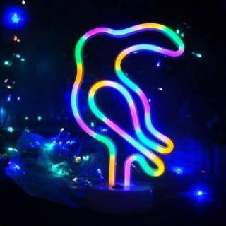 Светильник неоновый «Тукан» от USB купить в Минске +375447651009