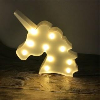 Светильник-ночник «Единорог» купить в Минске +375447651009