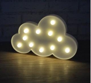 Светильник-ночник «Облако» белое купить в Минске +375447651009