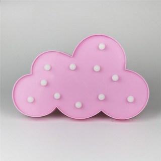Светильник-ночник «Облако» розовое купить в Минске +375447651009