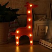 3D светильник-ночник «Жираф» купить в Минске +375447651009