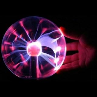 USB плазменная лампа - шар с молниями купить в Минске +375447651009