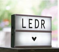 Светильник с буквами «Послание»  купить