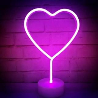 Светильник «Сердце» неоновый купить в Минске +375447651009