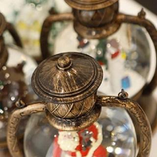 """Светильник со снегом """"Дед Мороз с подарками""""  купить в Минске +375447651009"""