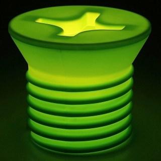 Светильник «Винт» салатовый купить в Минске +375447651009