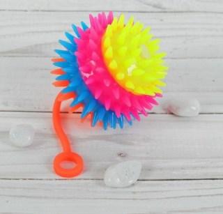 Световой мячик «Цветной ежик» купить в Минске +375447651009