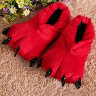 Тапки-когти красные купить в Минске +375447651009