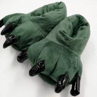 Тапки-когти зеленые купить в Минске +375447651009