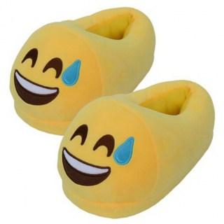 Тапочки Emoji «Радость до холодного пота» Минск +375447651009