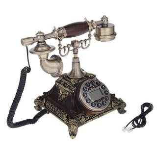 Ретро телефон «Пирамида» бронза Минск