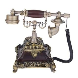Телефон в стиле ретро 'Пирамида' бронза Минск