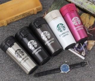 Термокружки Starbucks (Старбакс) розовая Минск