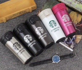 Термокружки Starbucks (Старбакс) коричневая Минск
