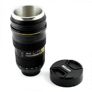 Термокружка в форме объектива E6 Nican  купить в Минске +375447651009