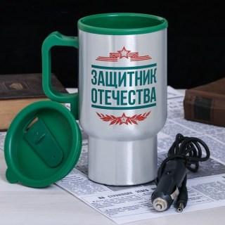 Термокружка «Защитник» с подогревом от прикуривателя  купить в Минске +375447651009