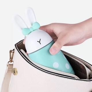 Термос «Кролик с ушками и бантиком» бирюзовый Минск +375447651009