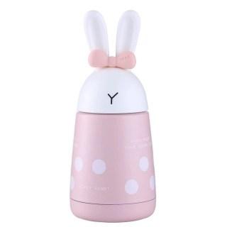 Термос «Кролик с ушками и бантиком» розовый Минск +375447651009